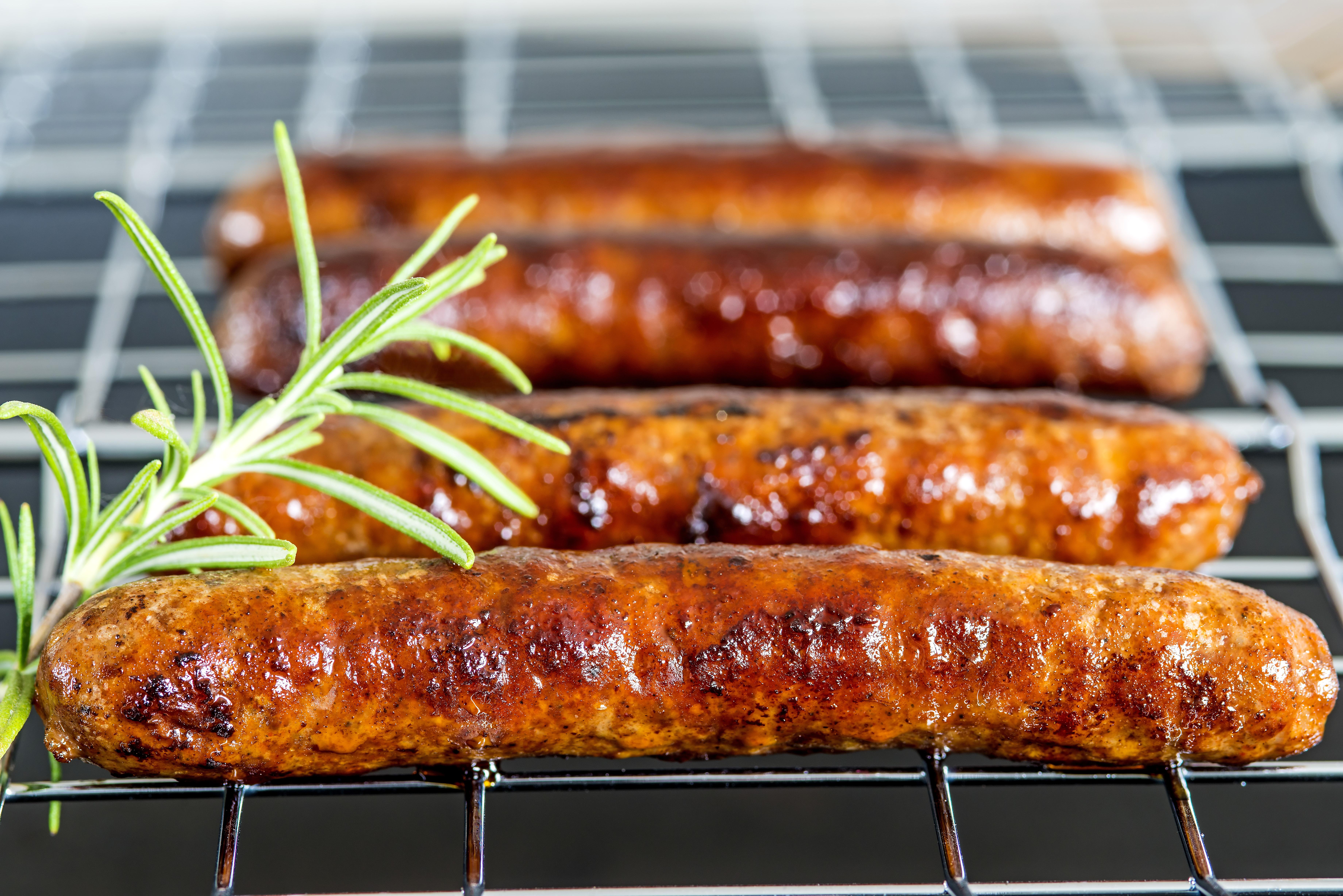 A tradicional Merguez, prato típico do churrasco francês.