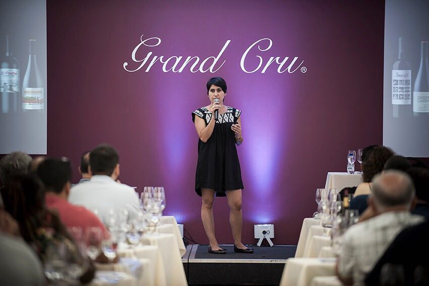 Daniela Salinas apresentou os vinhos da Morandé Adventure no 11º Encontro do Sommelier da Grand Cru.