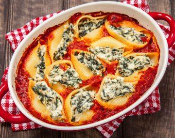 receita-de-conchiglione-com-espinafre-queijo